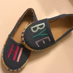 Little girls espadrilles 🍭🍬